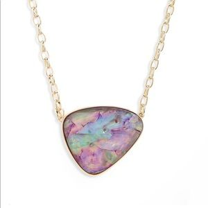Kendra Scott Mckenna pendant necklace in lilac